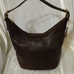 Coach Vintage Leather Hobo Bag